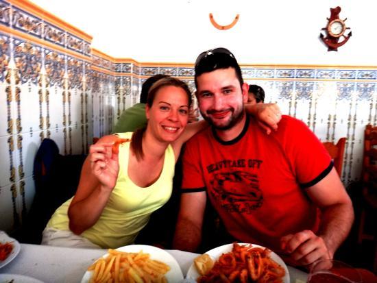 Bar Salas: We enjoyed seafood