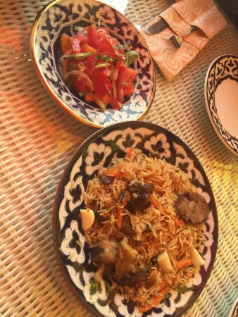 This Is My First Time Ate Uzbekistan Food Good Atmosphere And