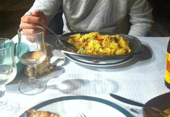 Restaurante O Caldo Verde: le kilo de bacalhau !