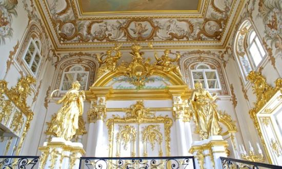 Tailored Tours St.Petersburg/ Day Tours and Shore Excursions: Grand Staircase Peterhof Palace