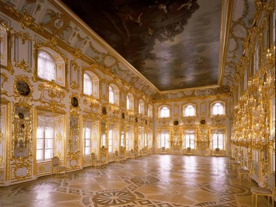 Tailored Tours St.Petersburg/ Day Tours and Shore Excursions: Grand Ball Room, Peterhof Palace