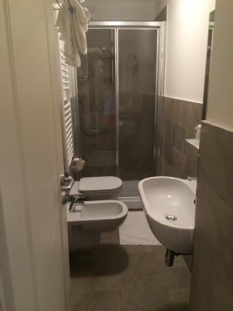 DEDO Boutique Hotel Very Small Room And Toilet With Sounds Of Water Running The