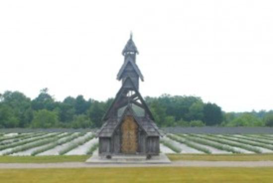Viking Garden Pavillion - Picture of Island Lavender Farm Market ...