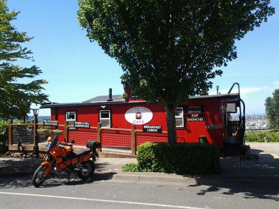 Little Red Caboose Cafe: The Little Red Caboose