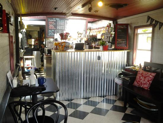 Little Red Caboose Cafe: Little Red Caboose inside