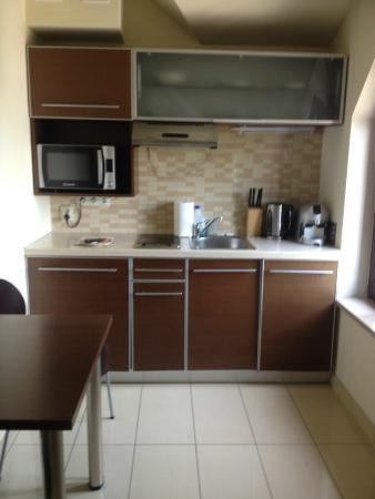 Kitchen - Picture of Red Brick Apartments, Krakow - TripAdvisor