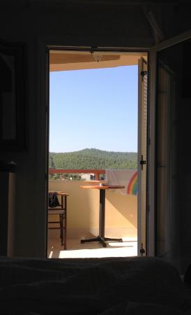 Kelyfos Bungalows & Suites: View from suite