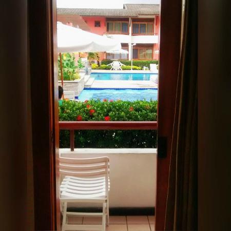 Porto Das Naus Praia Hotel: Vista do meu quarto