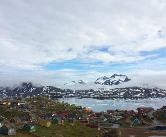 Angmagssalik Hotel : Another incredible view from the room.