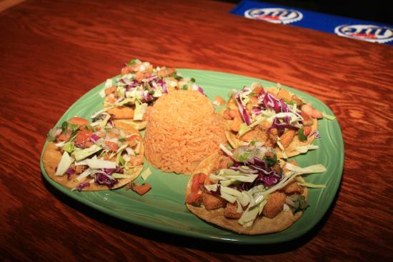 good tequila's mexican grill: TACOS VERACRUZ