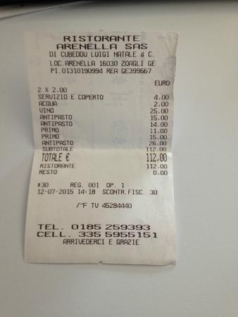 Zoagli, Italien: prezzi corretti