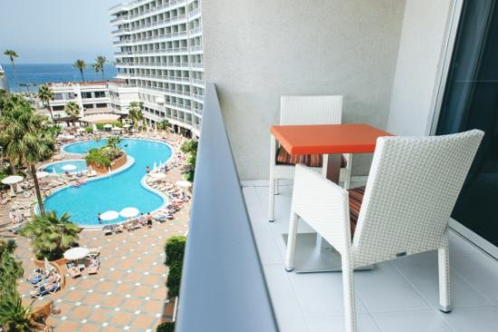 Palm Beach Tenerife Balcony View Of The Sea