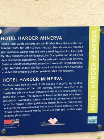 Harder Minerva Hotel: Minerva Hotel