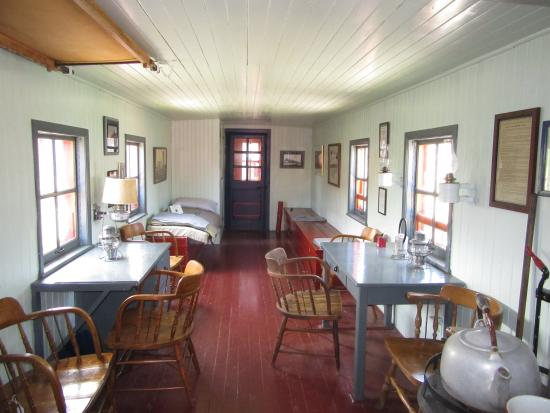 Living Spaces Ontario : Living Space - Picture of Northern Ontario Railroad Museum ...
