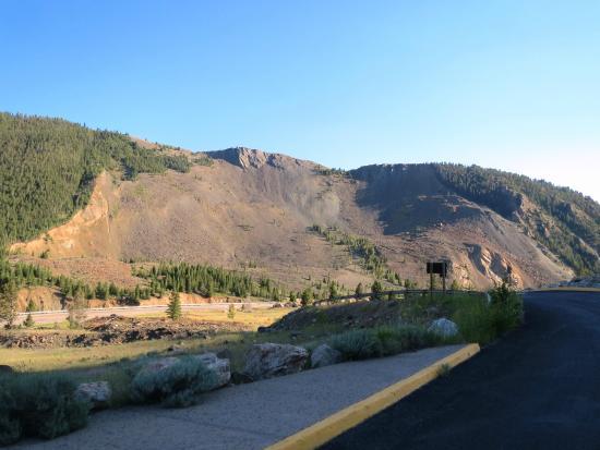 Landslide which formed Earthquake Lake