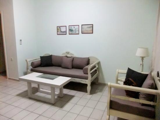 Jason Apartments Hotel: salon