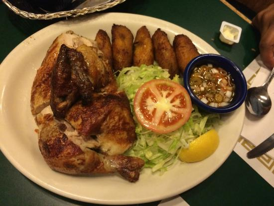 Rotisserie Chicken Picture Of Flor De Mayo Restaurant New York