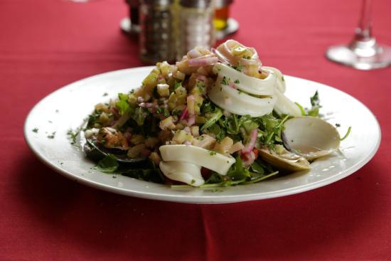 La Vendetta: Seafood Salad