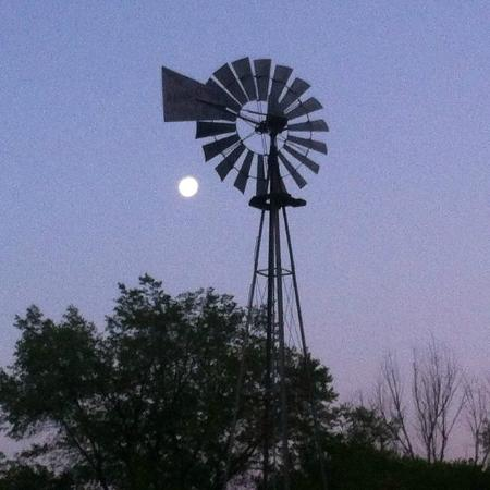 Rose Valley RV Ranch & Casitas: Old Windmill at Rose Valley RV