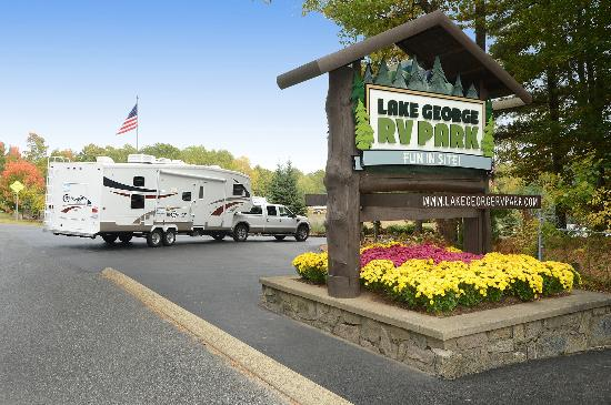 Lake George RV Park: Rated in the top 1% of al USA campgrounds since 1966