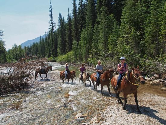 Global Outdoor Travel: group crossing river