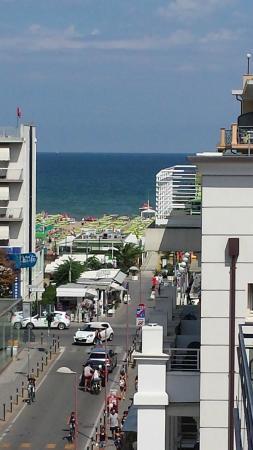 Hotel Valparaiso: vista dalla camera