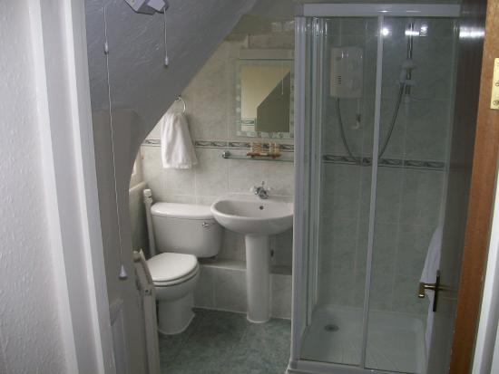 The Potters Arms: Bathroom of Twin Room