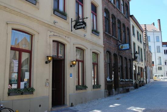 Hotel Groeninghe: Hôtel Groeninghe vu de l'extérieur