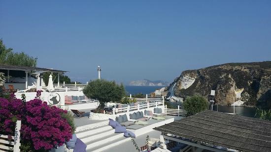 terrazza aperitivo - Foto di Grand Hotel Chiaia Di Luna, Isola di ...