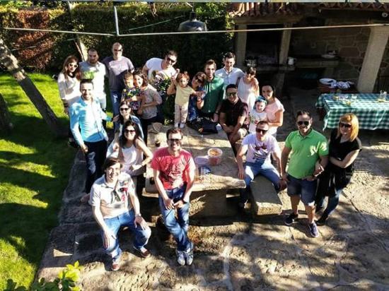 Casa de Marcelo: jardin y barbacoa