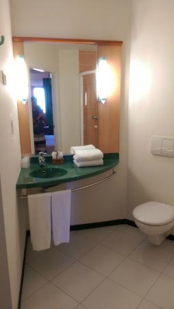 Hotel Iris Guadalajara: baño