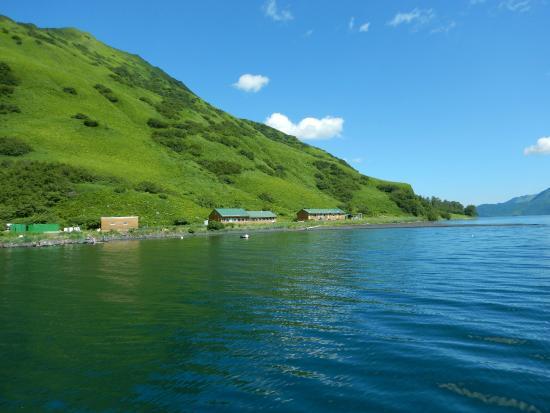 Kodiak Adventures Lodge - Larry Carroll: What a setting!