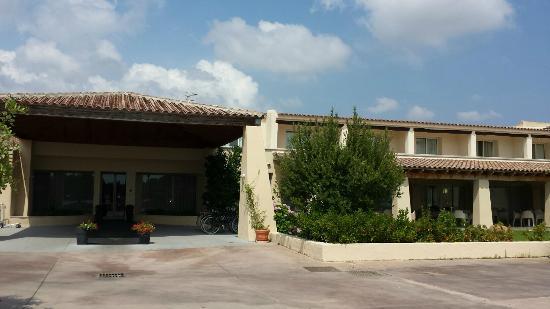 Terrazzino esterno bild von hotel san teodoro san for B b san teodoro