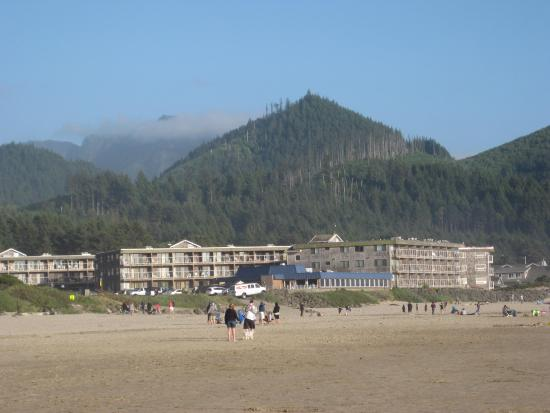 walk to haystack rock picture of tolovana inn cannon. Black Bedroom Furniture Sets. Home Design Ideas