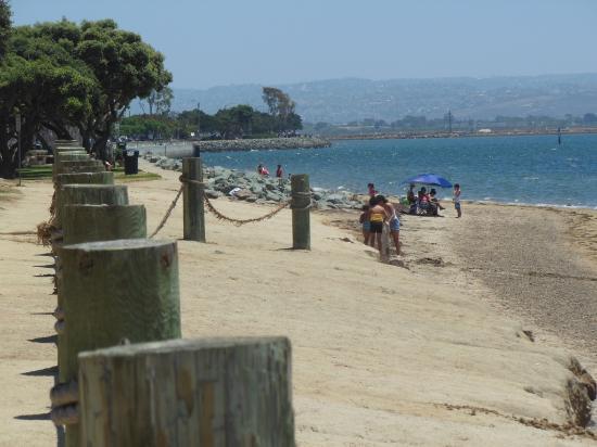 Bay Area Natural Beach Looking At