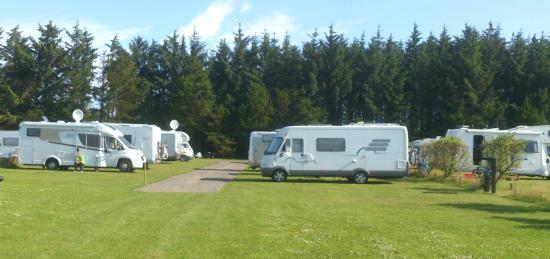 Tornby Strand Camping: Stellplatz til Wohnmobil bobilpladser