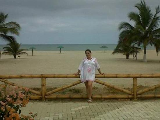 Amotape: vista de la playa desde la habiatción