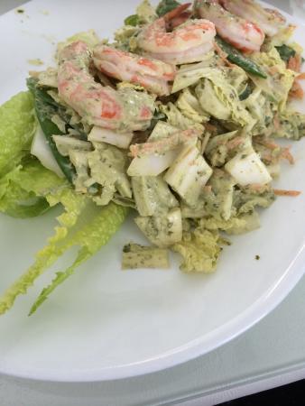 New Buffalo, MI: Love this shrimp salad!!!