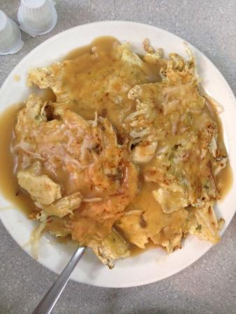 Chicken egg foo yung