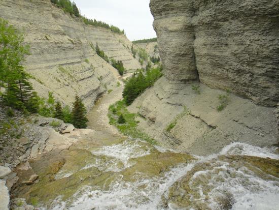 Port-Menier, Canada: Canyon de l'Observation (randonnée les Falaises)