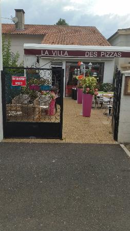 La villa des pizzas