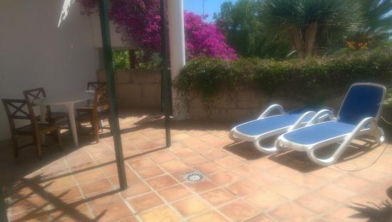 Casa San Miguel: Terrasse