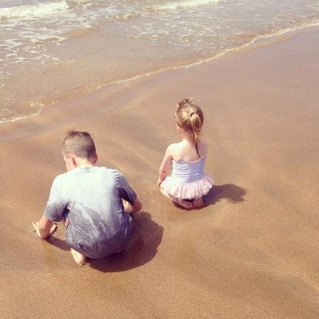 The Budehaven Guesthouse: Trip to the sunny beach, relaxing in the Bude Haven garden, playing pool and a day out at Milky