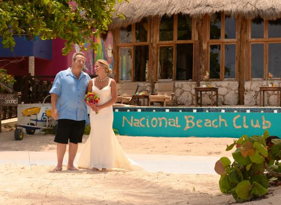 Nacional Beach Club & Bungalows: Realizing how perfect this day is