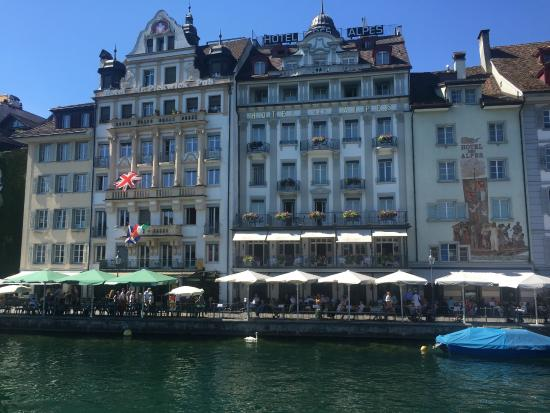 My 500 euro view picture of hotel des alpes lucerne for Hotels 2 alpes