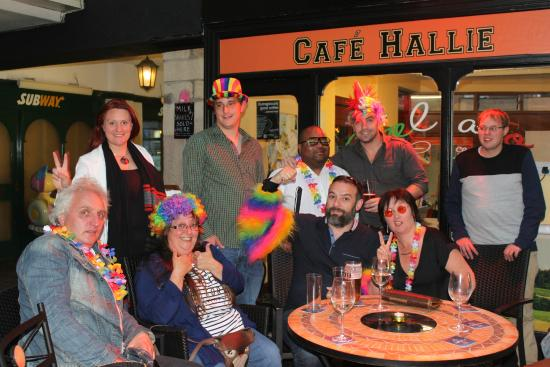 Hallies: Henshaws Staff Party