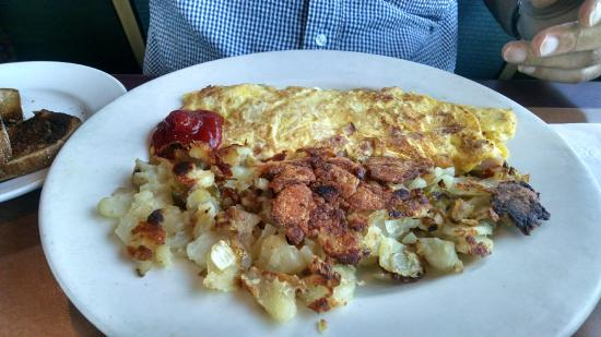 Lawrence, Nova York: omelette
