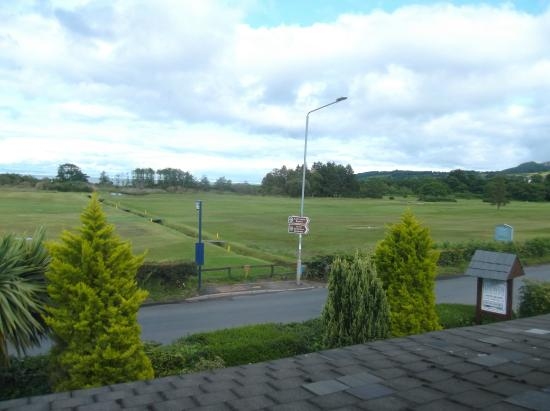 Orwin House Bed and Breakfast: View from our bedroom window