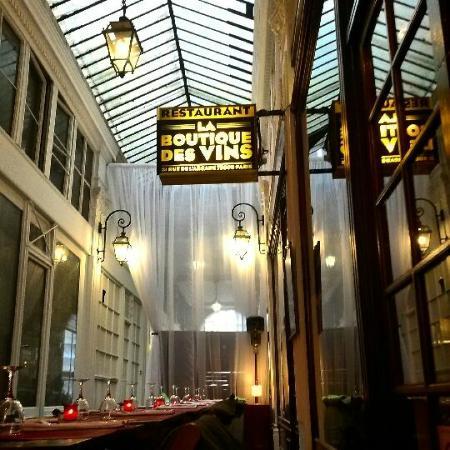 restaurant la boutique des vins