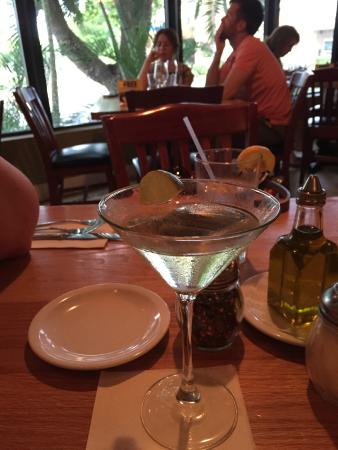 Gino's Trattoria: Drink of the Day - Grapefruit Margarita Martini